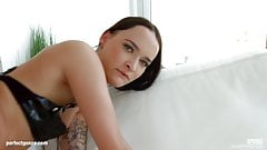 Sasha Sparrow gets a messy creampie at All Internal