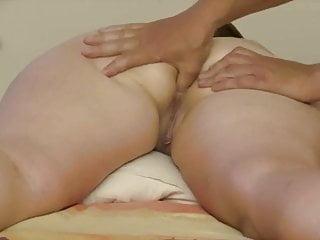 Asian Wife Getting Ass massage