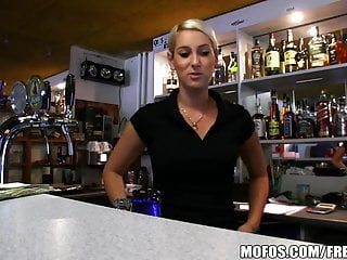 Public Pickups Hot Czech Bartender Paid For Quick Fuck