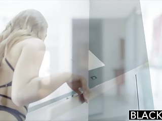 Preview 2 of BLACKED 18yr Old Jillian Janson has Anal Sex with BBC