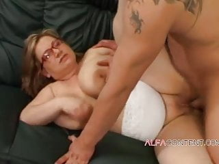 Hot mature with abnormal tits
