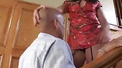 Babe In Stockings Dildo And Pussy Licked
