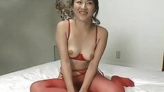 Two beautiful Japanese Masturbating Lesbians