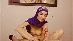 Handjob by muslimgirl's Thumb