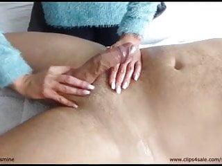 Sensual Jasmine - Tantric Lingam Massage #1 - Handjob - CFNM