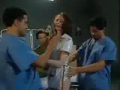 The naughty nurse's Thumb