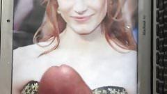 Jessica Chastain Cum Tribute (Part 2)