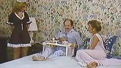 Karen Summer, Nina Hartley in porn classic clip with a horny