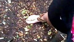 Outdoors Handjob's Thumb