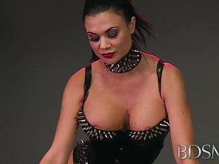 Asian hentai xxx - Bdsm xxx mistress treats her sub boy to a blowjob