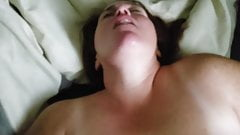 Morning fuck with wife pt. 2 with wife cumming