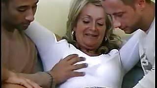 Hot German Granny gets Anal & Vaginal Creampies