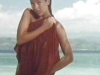 Sophie Marceau full nude on beach