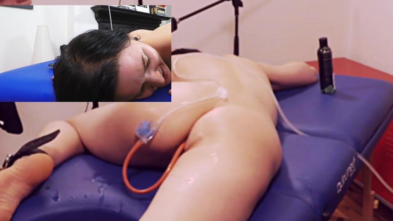 Insertion anal enema