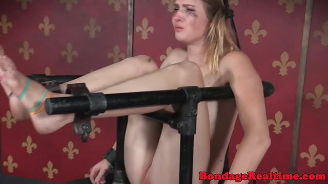 Preview 1 of BDSM sub canned while bound by maledom
