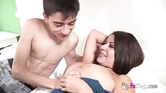 Susana teaches Jordi how to do anal