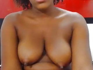 Large Black Nipples And Meaty Pussy Lips