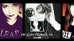 My Cum Tribute to Ani18