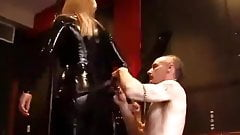 latex mistress fuck slave