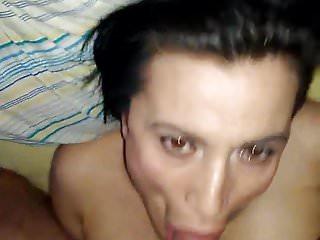 Brutalni blowjob porno