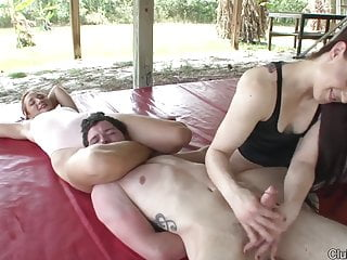 Cheyenne And Amadahy Mixed Wrestling