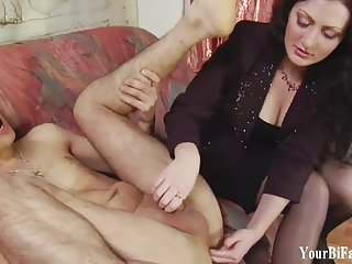 My big strapon cock is going way up your ass