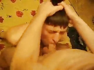 Rough breeding and deepthroating Russian twink