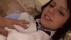 STP1 Sexy Schoolgirl Fucks Older Oriental Guy !