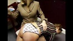 panty spanking wedgie