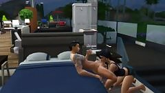 Sims getting down