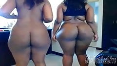 Two Thickalicious Ebony BBW's Webcam