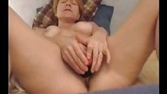 Sweet Milf Playing With Her Dildo