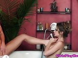 Dyke Emily Addison eats out Angela Sommers