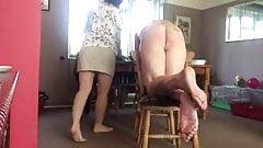 women spank wife 2