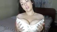 Big tits and huge areolas.  Ka