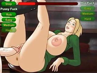 Hentai Sex Game How To Get A Job Being A Big Boobs Blonde