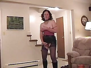HOT HORNY WOMAN IN BOOTS
