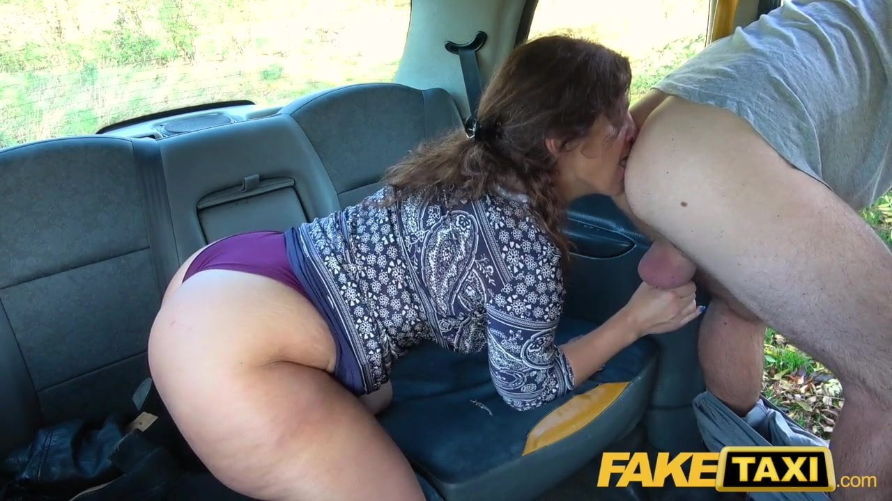 Hot Blonde Big Tits Fake Taxi