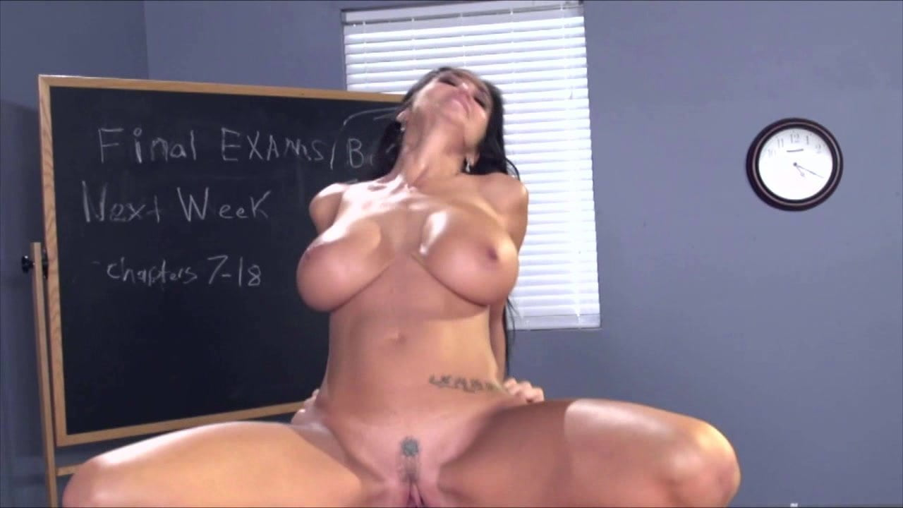 Ava Addams Hot Teacher Turned On By Student