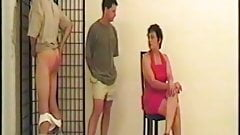 strong woman spanks two mans part 3 of 4