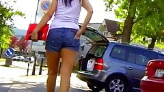 Candid - Sexy MILF In Hot Pants