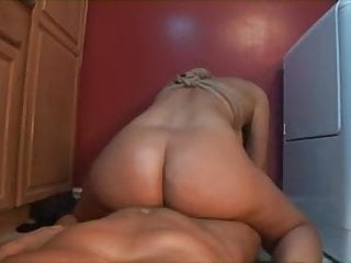 Bound blonde MILF gets fucked