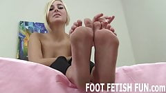 I love it when guys lick my feet