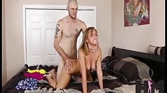 Hussie Auditions: 18 Year Old Kelly Green in First Sex Scene