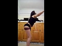 Arab Horny Teen Dance