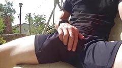 Big Cum in Shorts