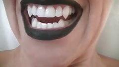 vampire vore hot mouth