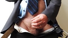 Cumshot at the office