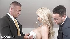 Glamkore - Christina Shine double penetration threesome's Thumb