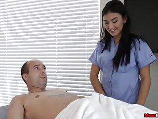 Horny Guys Cock Becomes Hard & Thick During Massage